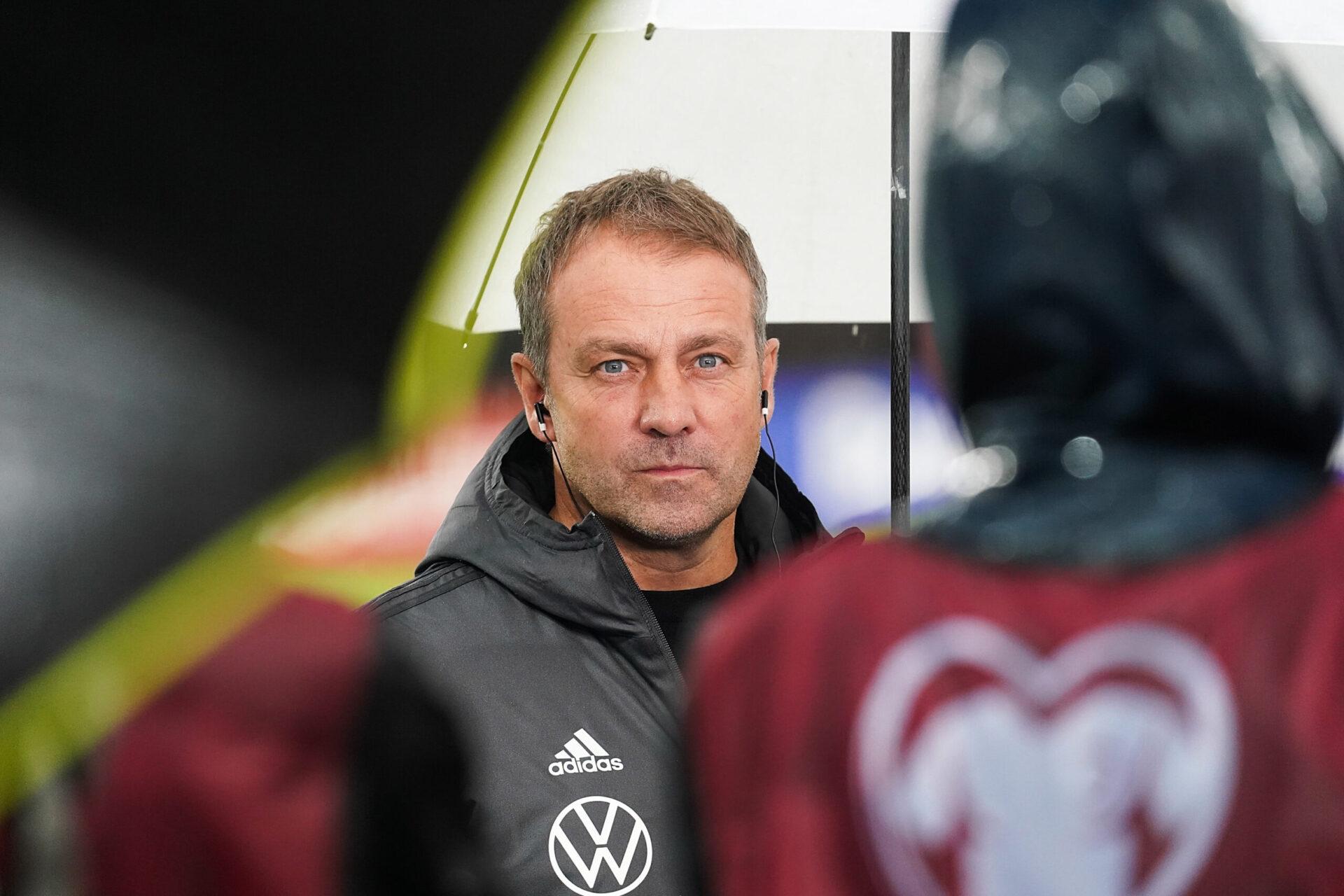 Hansi Flick a remporté les 5 matchs disputés à la tête de l'Allemagne (iconsport)