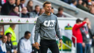 Jesse Marsch, l'entraîneur de Leipzig, était en conférence de presse avant le match de Ligue des champions face au PSG. Icon Sport