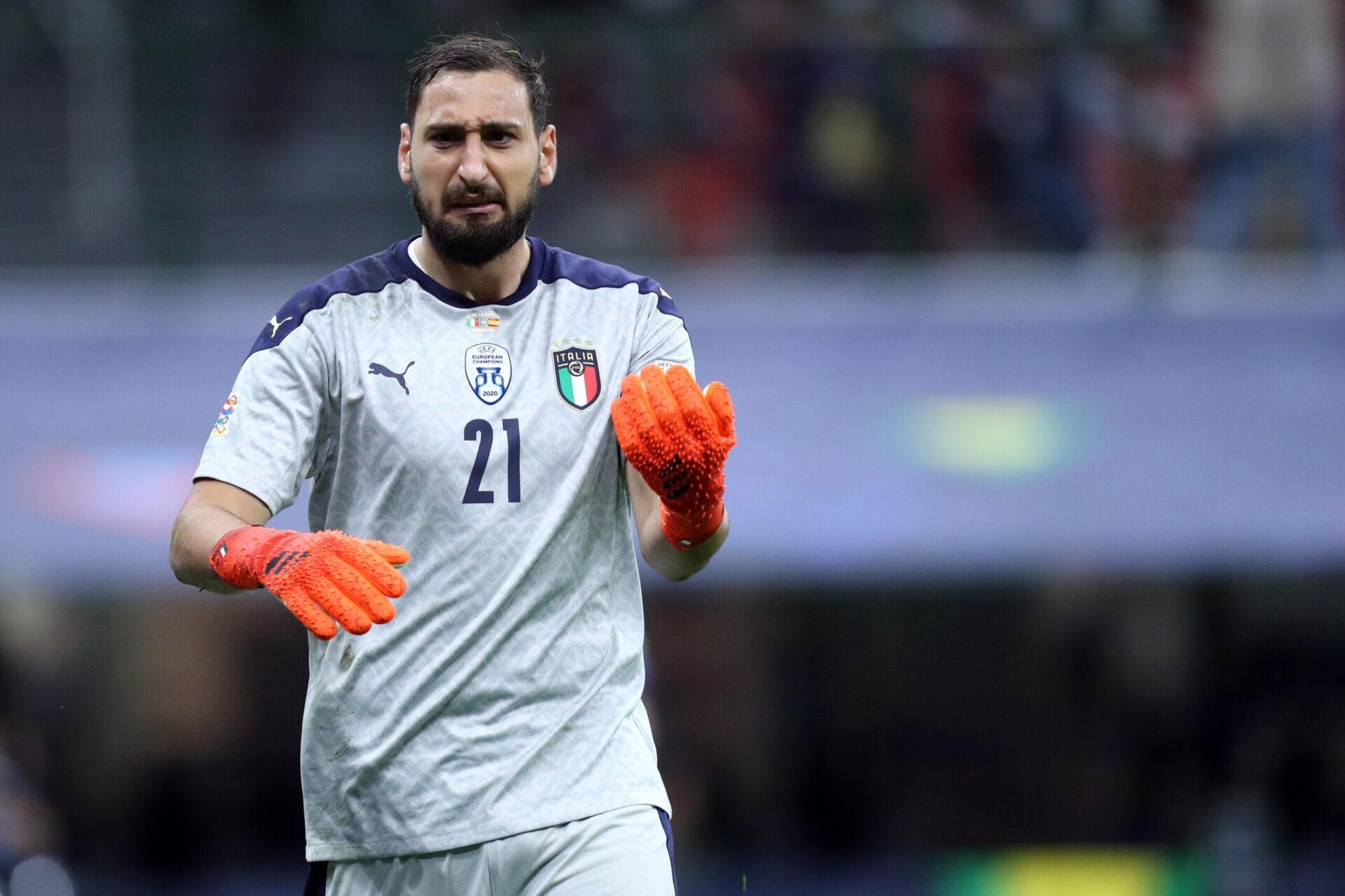 Donnarumma (Italie) sera titulaire face à la Belgique (iconsport)