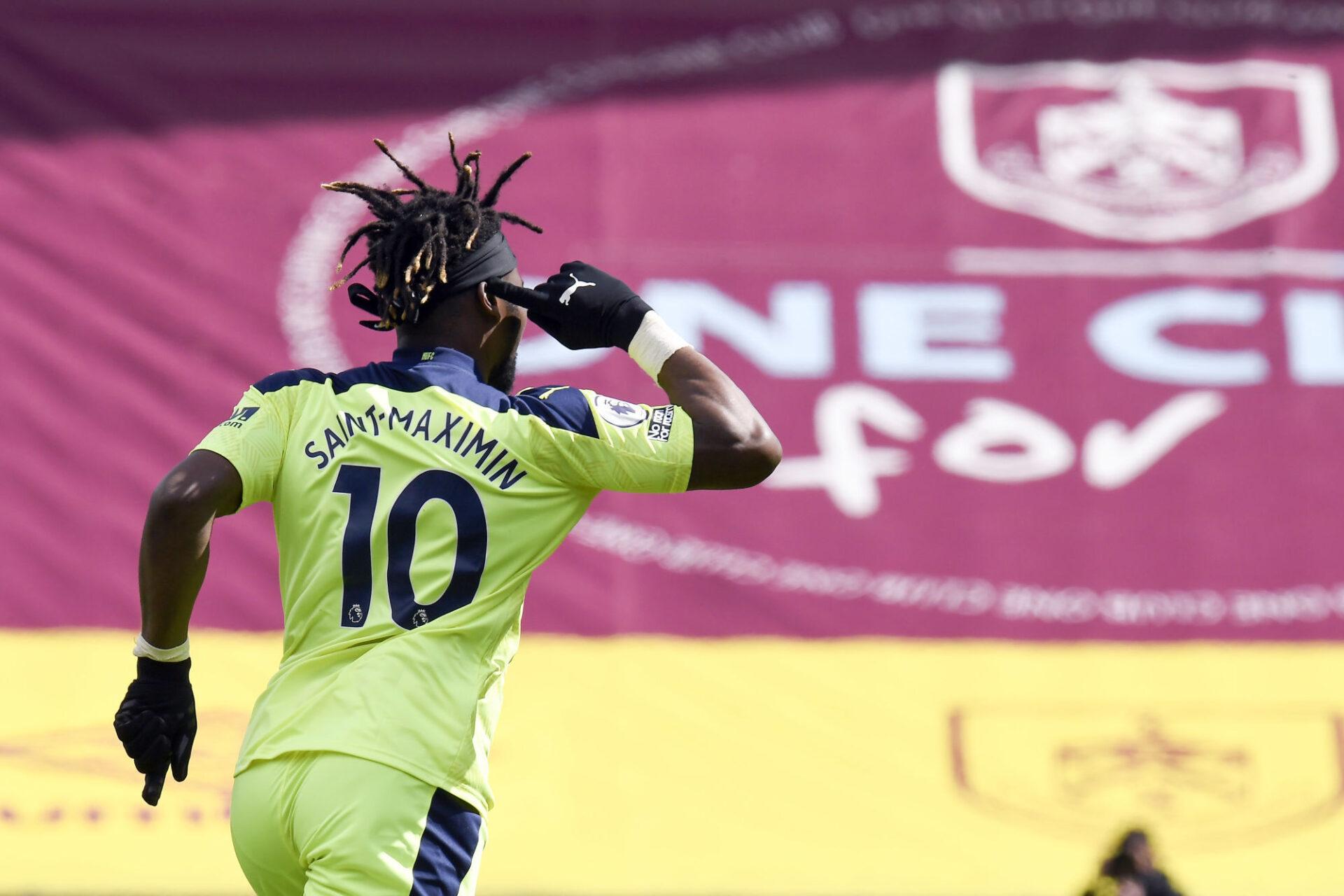 Allan Saint-Maximin devrait voir débarquer les stars à Newcastle. (iconsport)