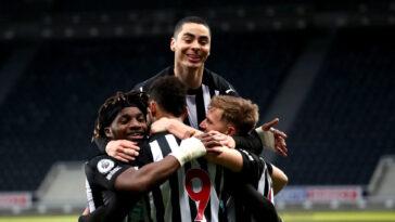 Le Newcastle d'Allan Saint-Maximin et Miguel Almiron va-t-il prochainement rouler sur la planète football ? Icon Sport