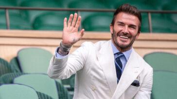 David Beckham se transforme en ambassadeur de la Coupe du Monde 2022 (iconsport)