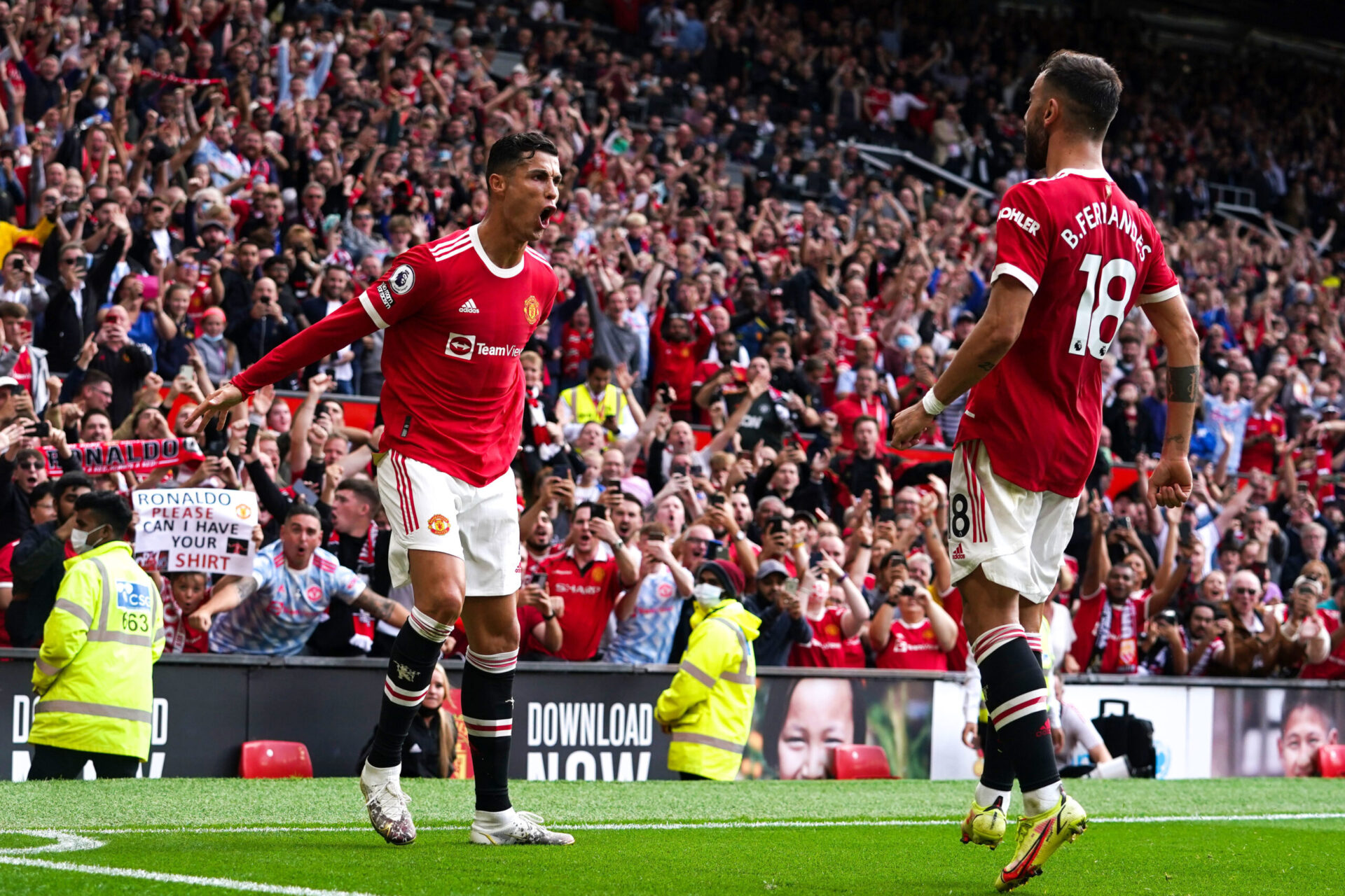 Ronaldo a frappé fort pour son retour face à Newcastle (iconsport)