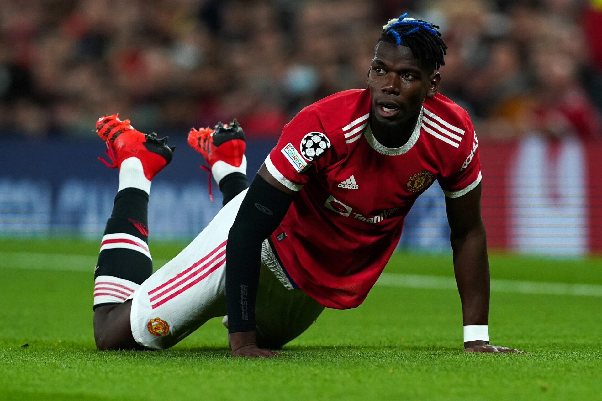 Paul Pogba sous les couleurs de Manchester United (iconsport)