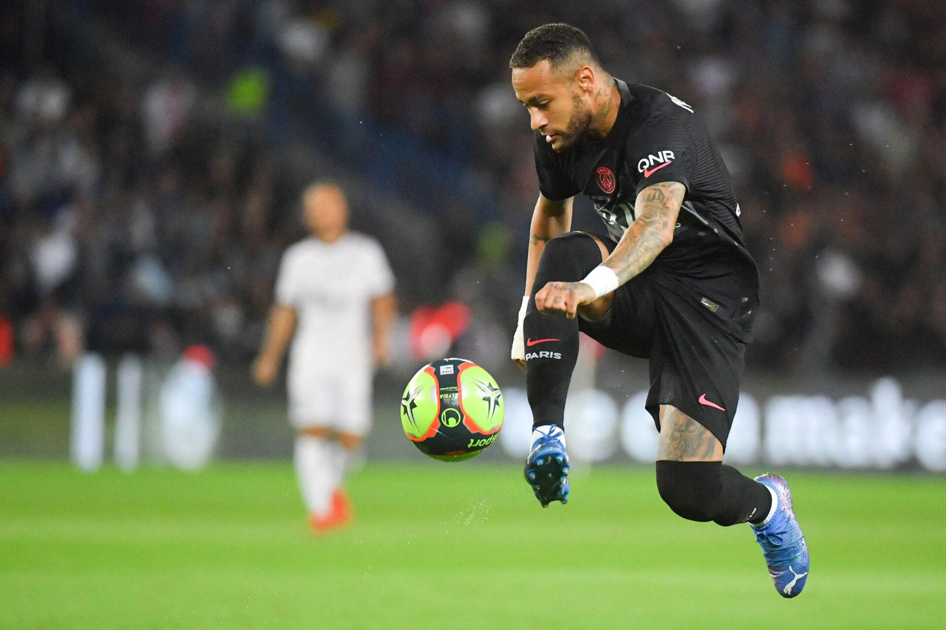 Neymar ira-t-il au bout de son contrat avec le Paris Saint-Germain, soit jusqu'en 2026 ? Icon Sport