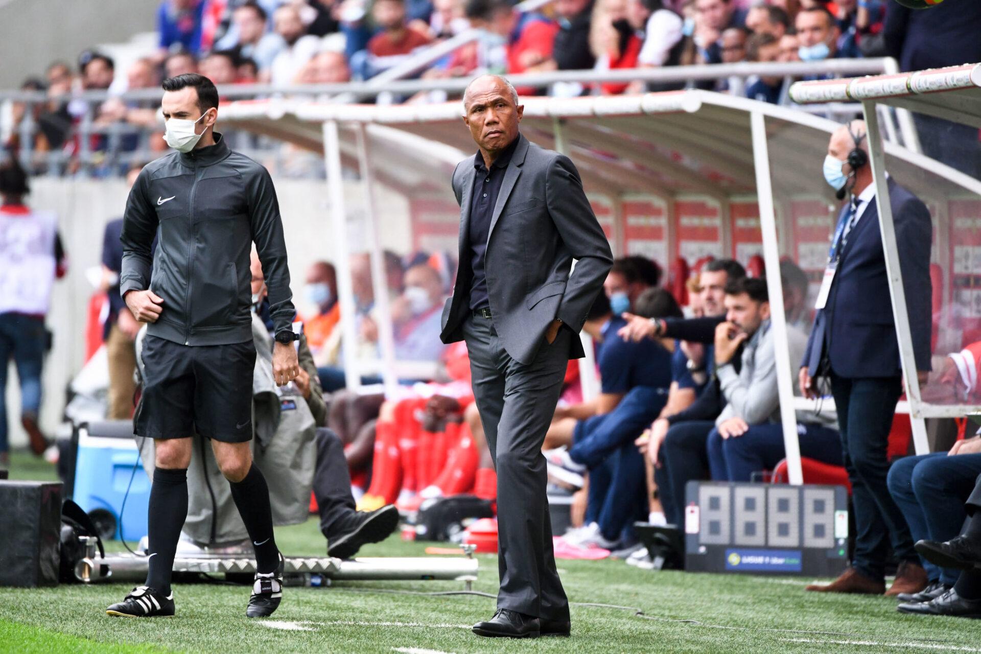 Antoine Kombouaré a invité les journalistes à ne pas s'emballer. Icon Sport