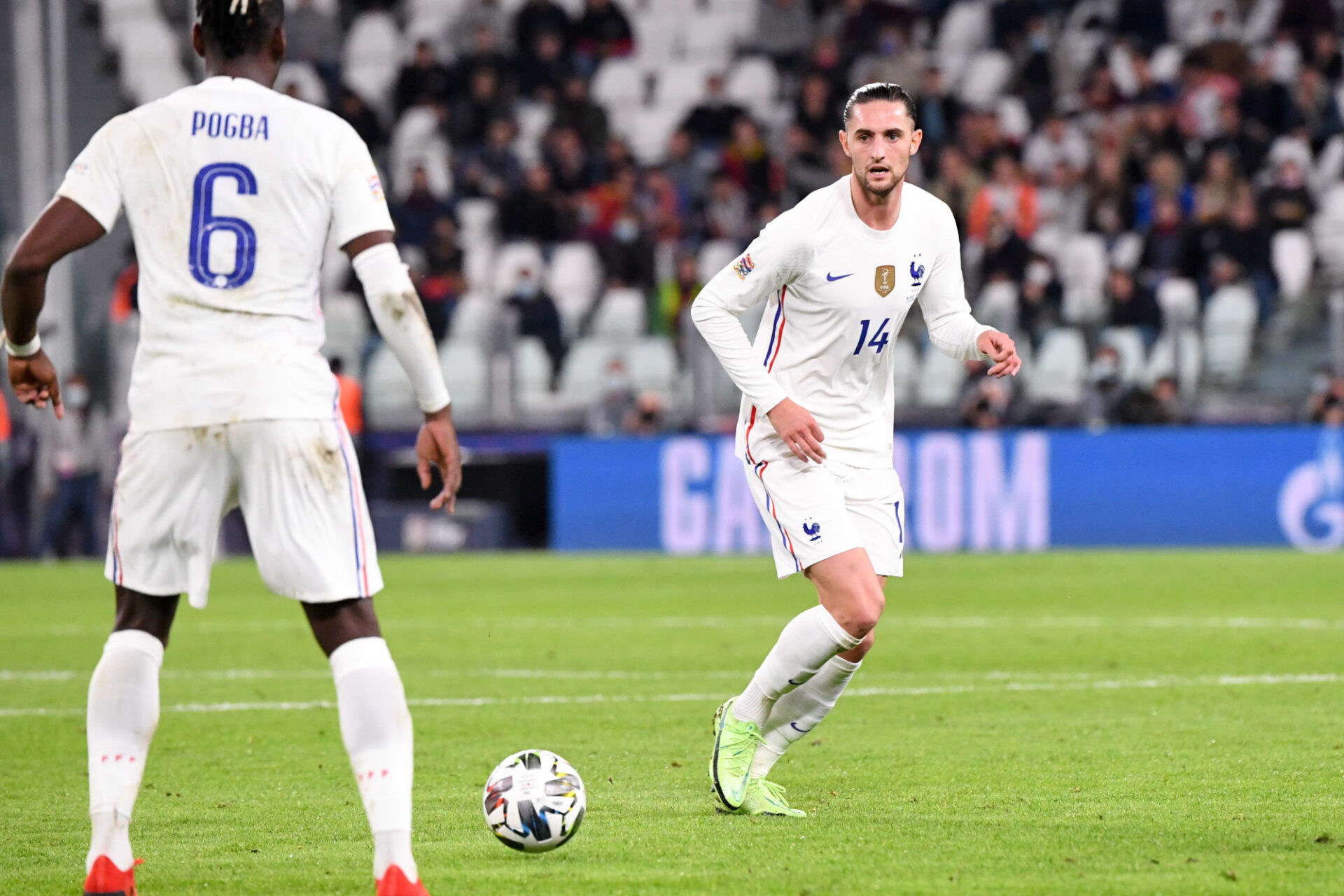 Adrien Rabiot est un homme de base de Didier Deschamps. Icon Sport