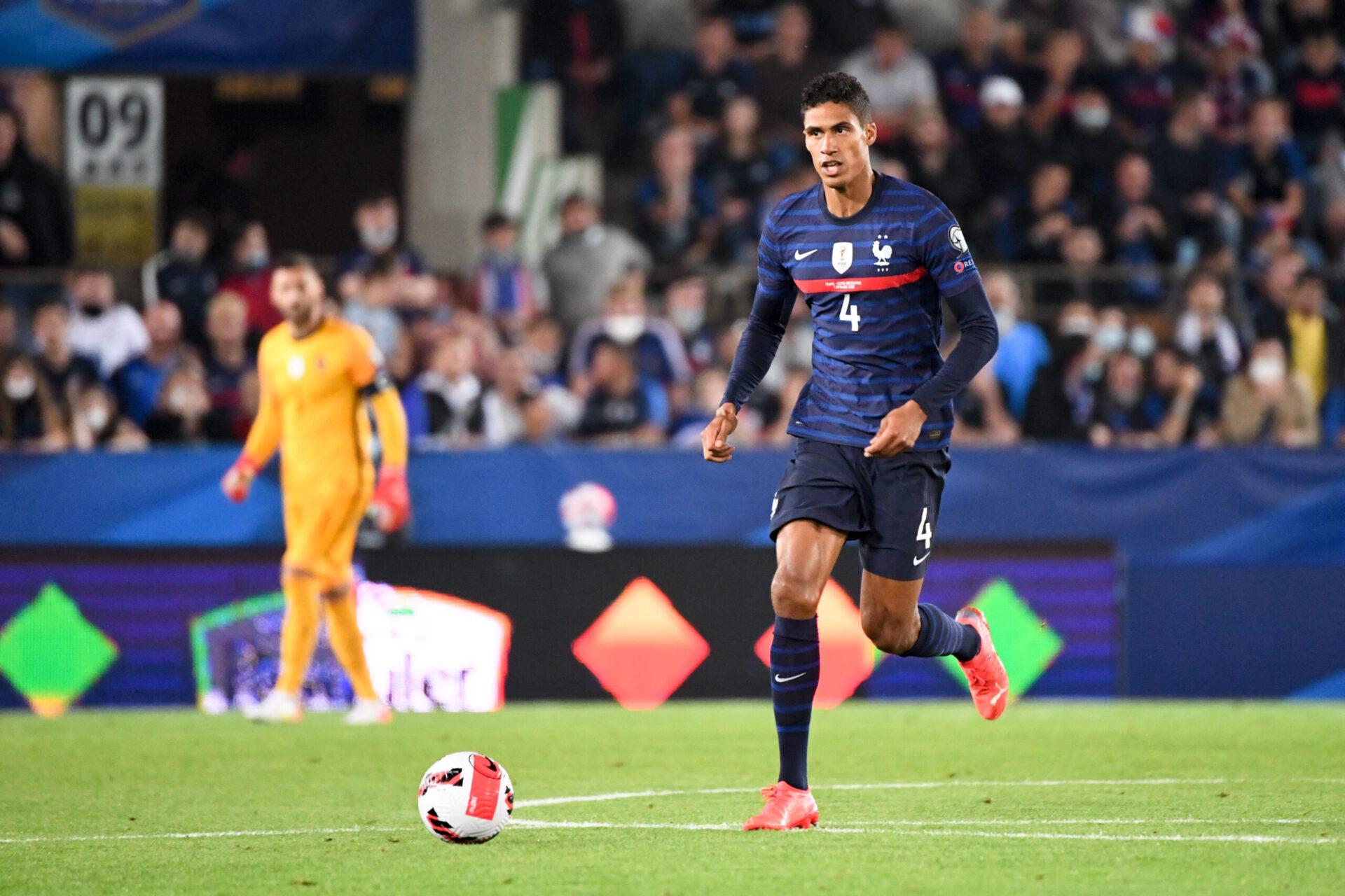 Varane et les Bleus affronteront la Belgique en demi-finale de la Ligue des nations. Icon Sport