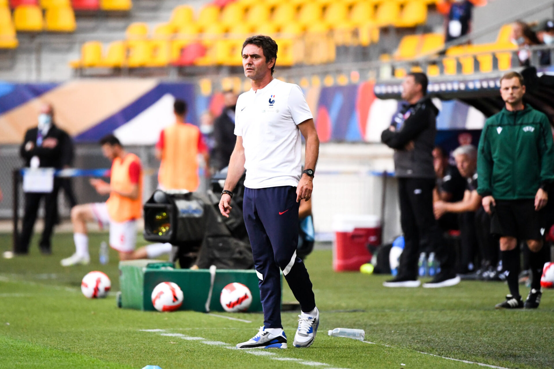 Sylvain Ripoll compte beaucoup sur Rayan Cherki. Icon Sport