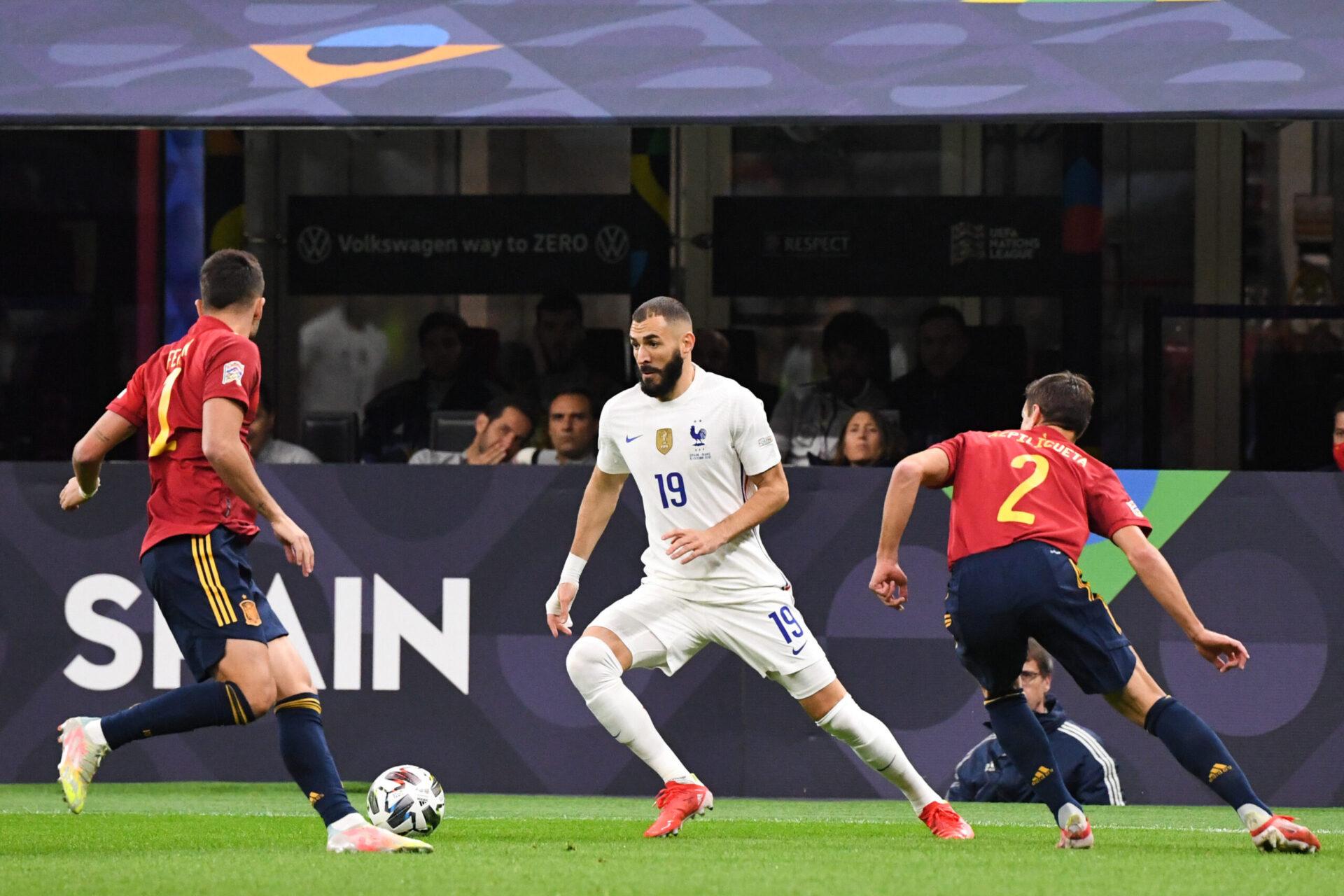 Dans la foulée de performances stratosphériques avec le Real Madrid, Benzema a brillé en équipe de France depuis son retour (iconsport)