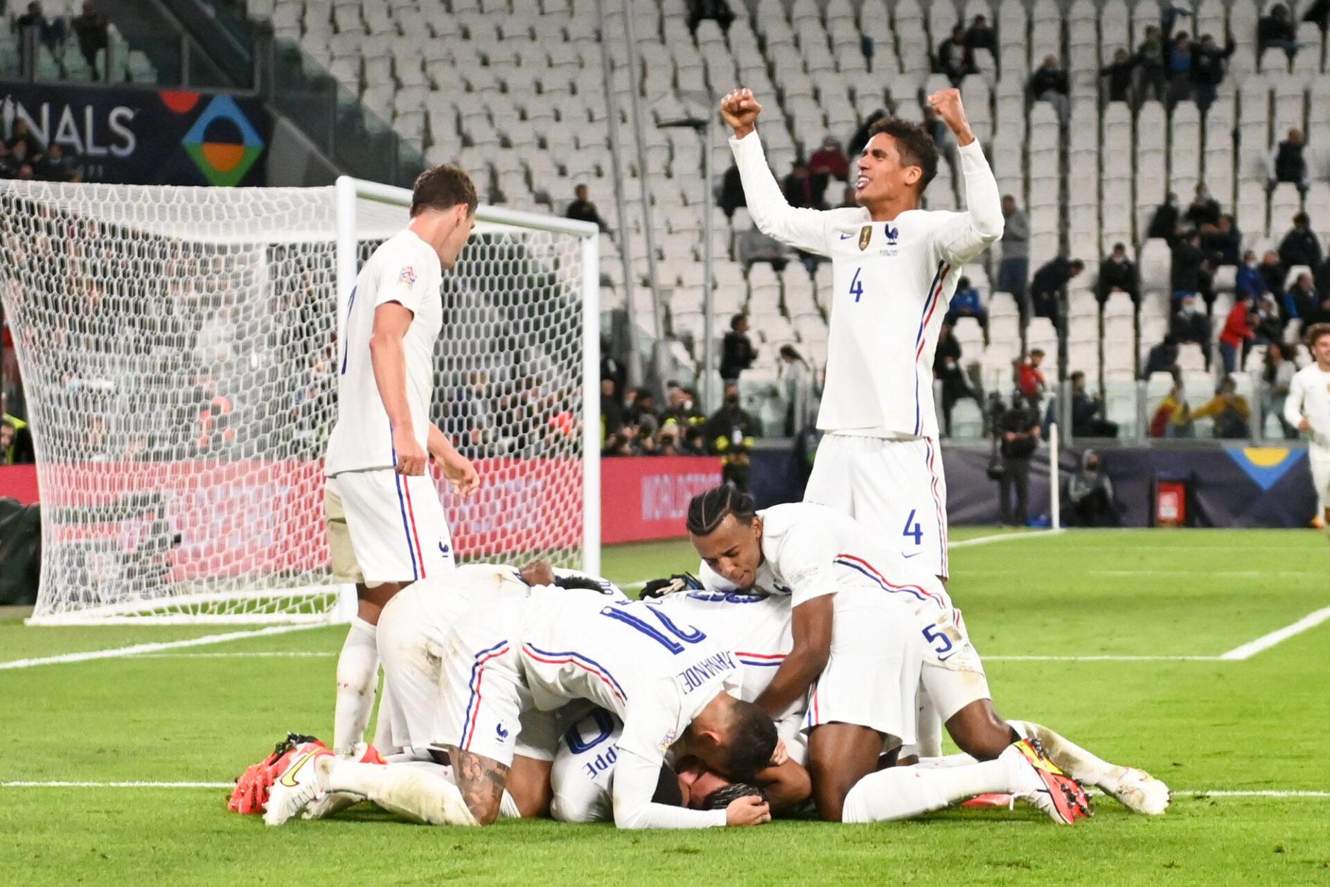 L'équipe de France empocherait un joli pactole en cas de sacre en Ligue des nations. Icon Sport