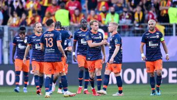Montpellier s'est imposé face à Lens ce dimanche soir (iconsport)