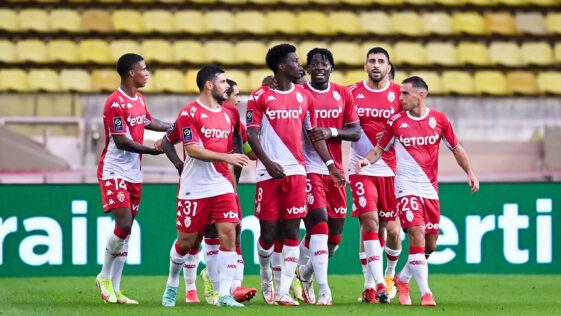 L'AS Monaco s'est amusé contre les Girondins de Bordeaux au stade Louis II, grâce notamment à un grand Aurélien Tchouaméni. Icon Sport