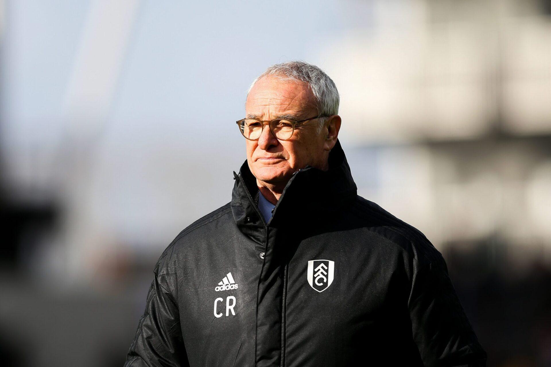 Ranieri n'a plus entraîné en Angleterre depuis deux ans et demi, lorsqu'il a quitté Fulham (iconsport)