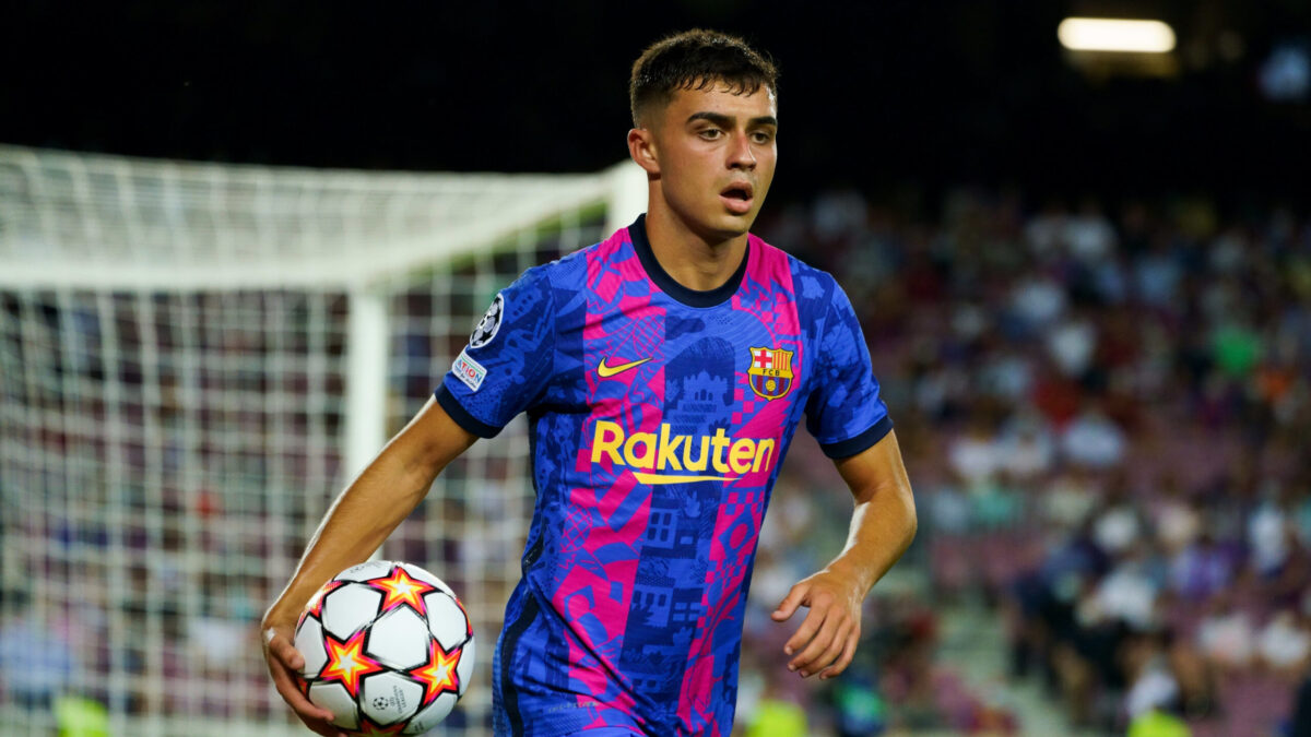 Pedri va prolonger son contrat jusqu'en 2026 avec le FC Barcelone. Icon Sport