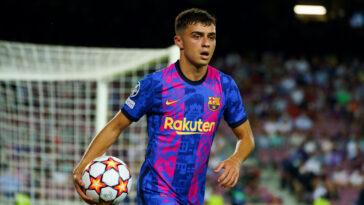 Pedri prolonge son contrat jusqu'en 2026 avec le FC Barcelone. Icon Sport