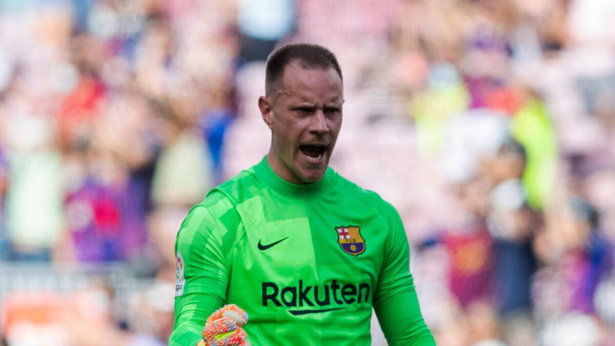 Marc-André ter Stegen se veut optimiste pour le Barça. Icon Sport