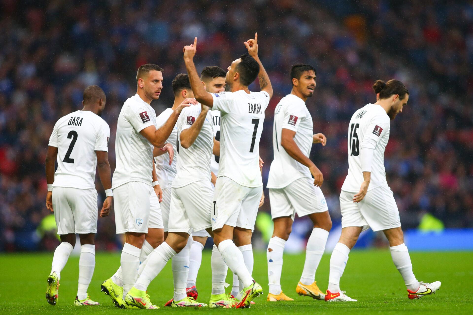 """Dans ses propos, Gianni Infantino a mis en avant la sélection israélienne de football dans laquelle """"juifs et musulmans jouent ensemble"""" (iconsport)"""