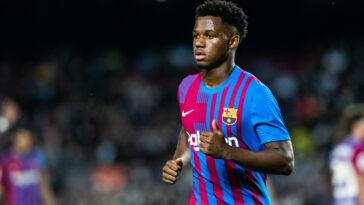 Ansu Fati a prolongé son bail au Barça (iconsport)