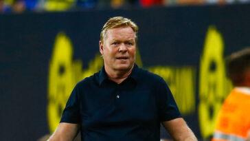 Ronald Koeman, l'entraîneur du Barça, se sait sur la sellette. Icon Sport