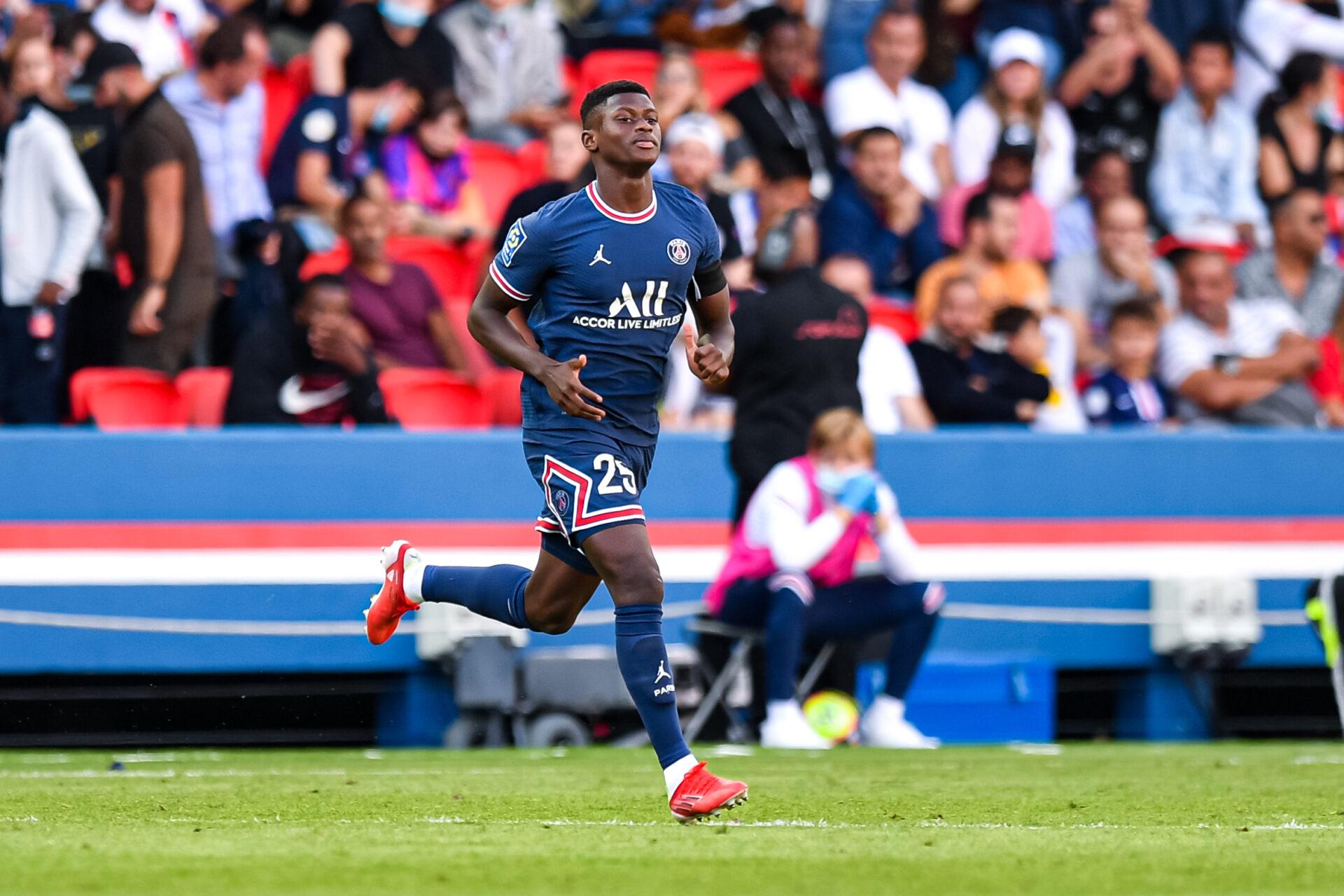 Nuno Mendes est apparu six fois avec Paris depuis le début de saison (iconsport)