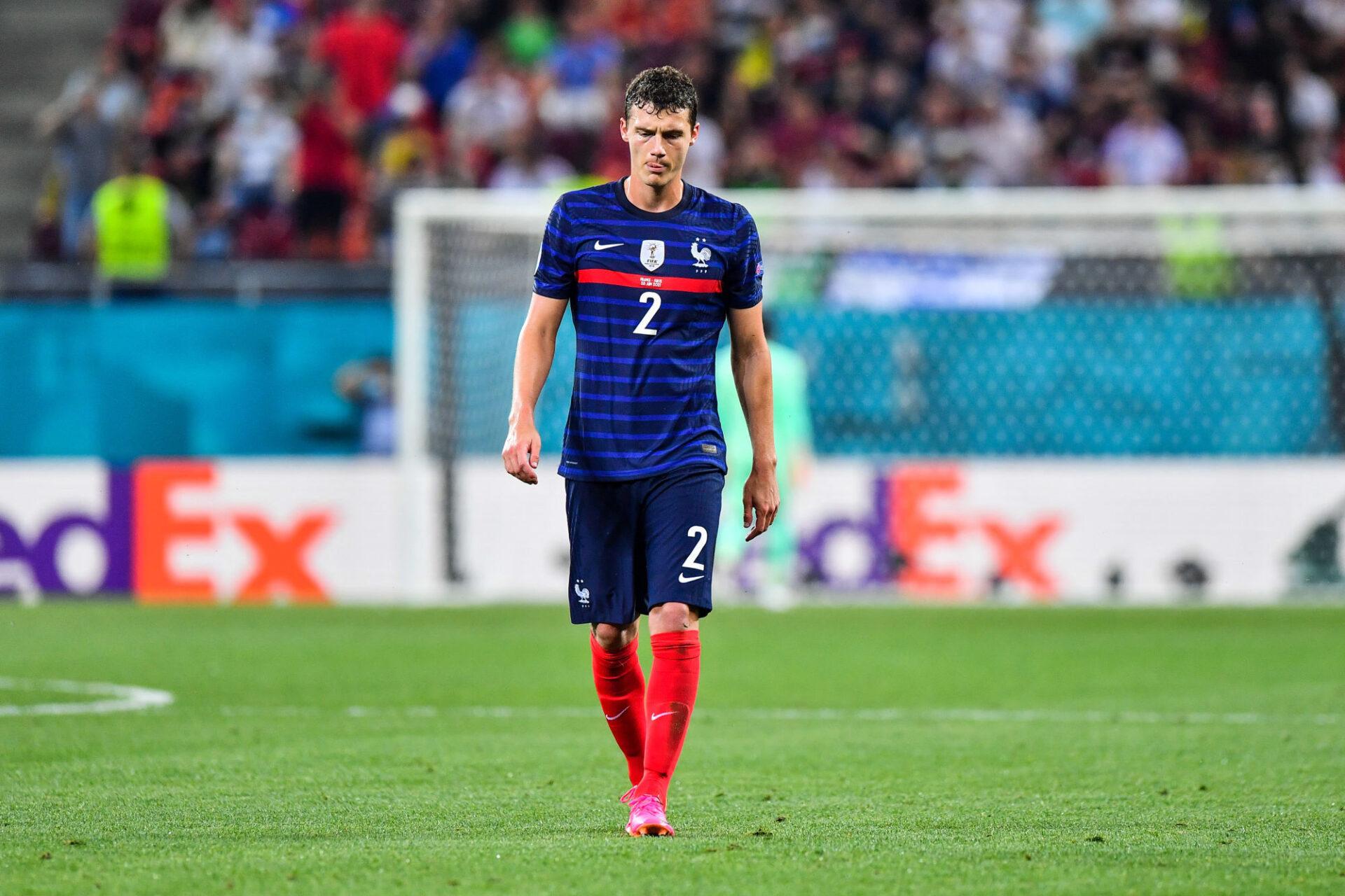 Benjamin Pavard évoluera piston droit contre la Belgique. Icon Sport