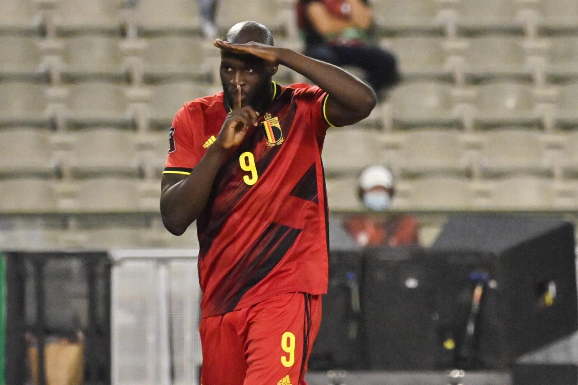 Romelu Lukaku sera une des armes belges face à l'équipe de France. Icon Sport