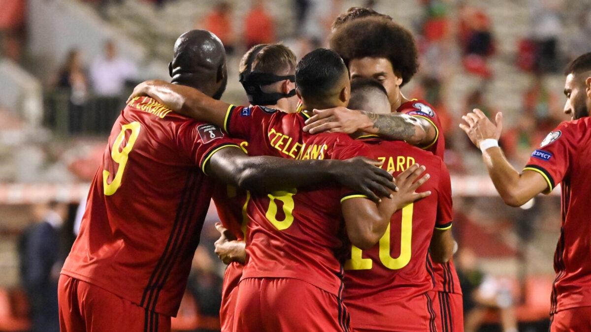 La Belgique, avec Lukaku, De Bruyne et Hazard pour affronter l'équipe de France en demi-finale de la Ligue des Nations. Icon Sport