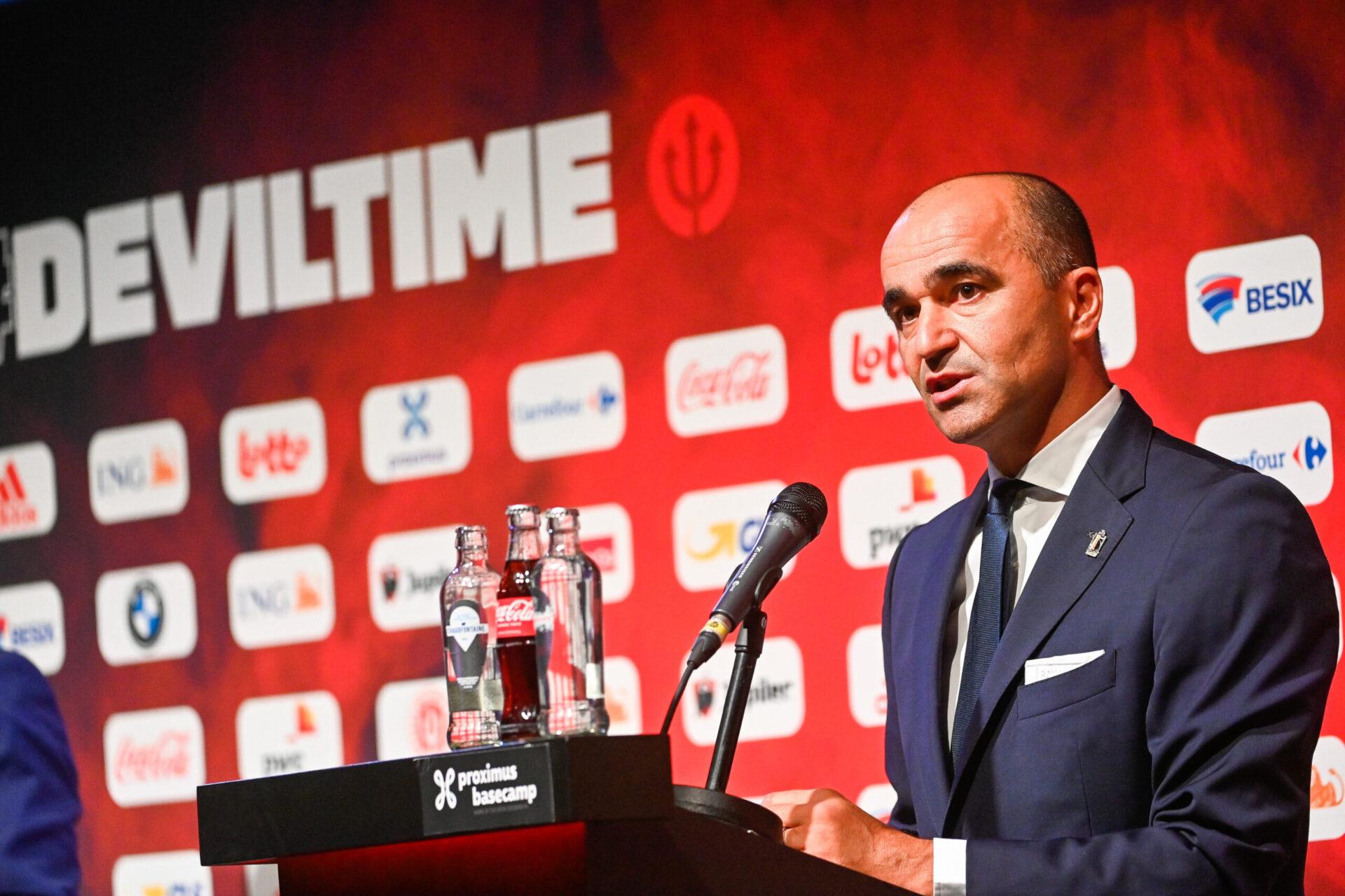 Roberto Martinez a donné la liste des 23 joueurs retenus pour le Final Four en Ligue des Nations. Icon Sport
