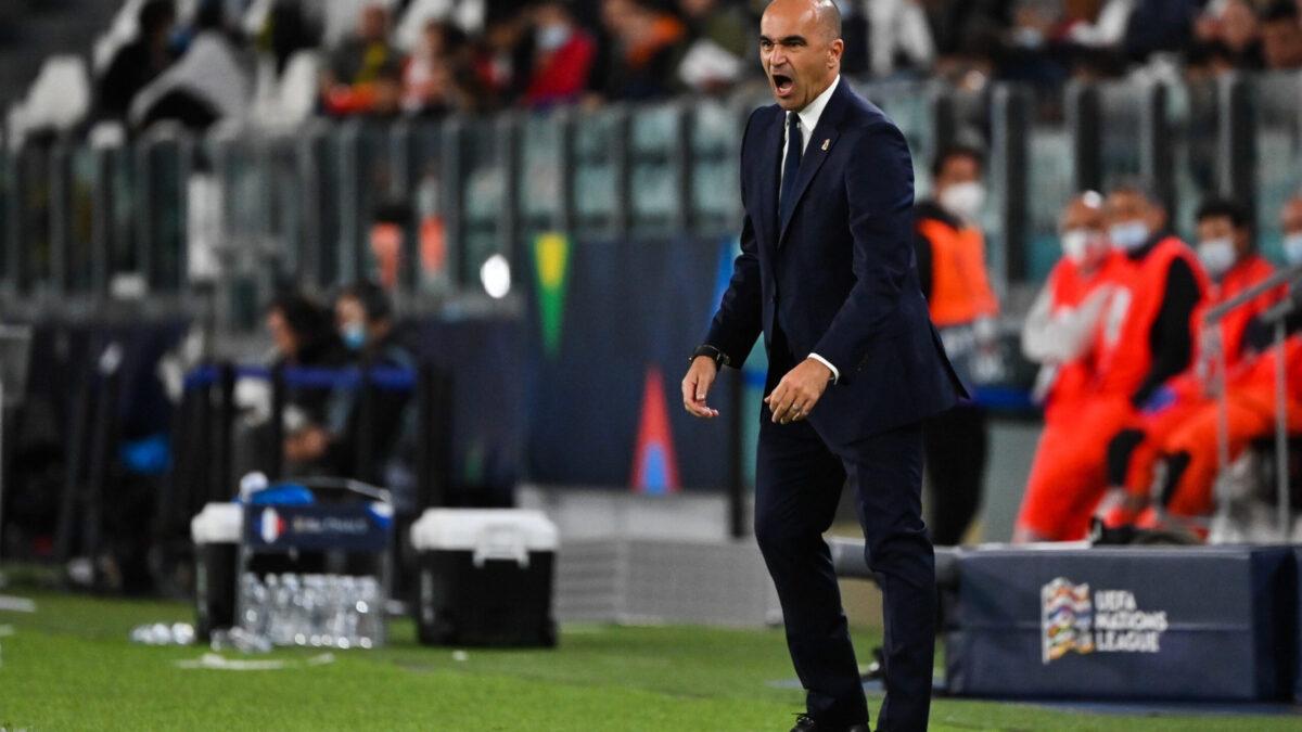 La réaction de Roberto Martinez après la défaite face aux Bleus (iconsport)