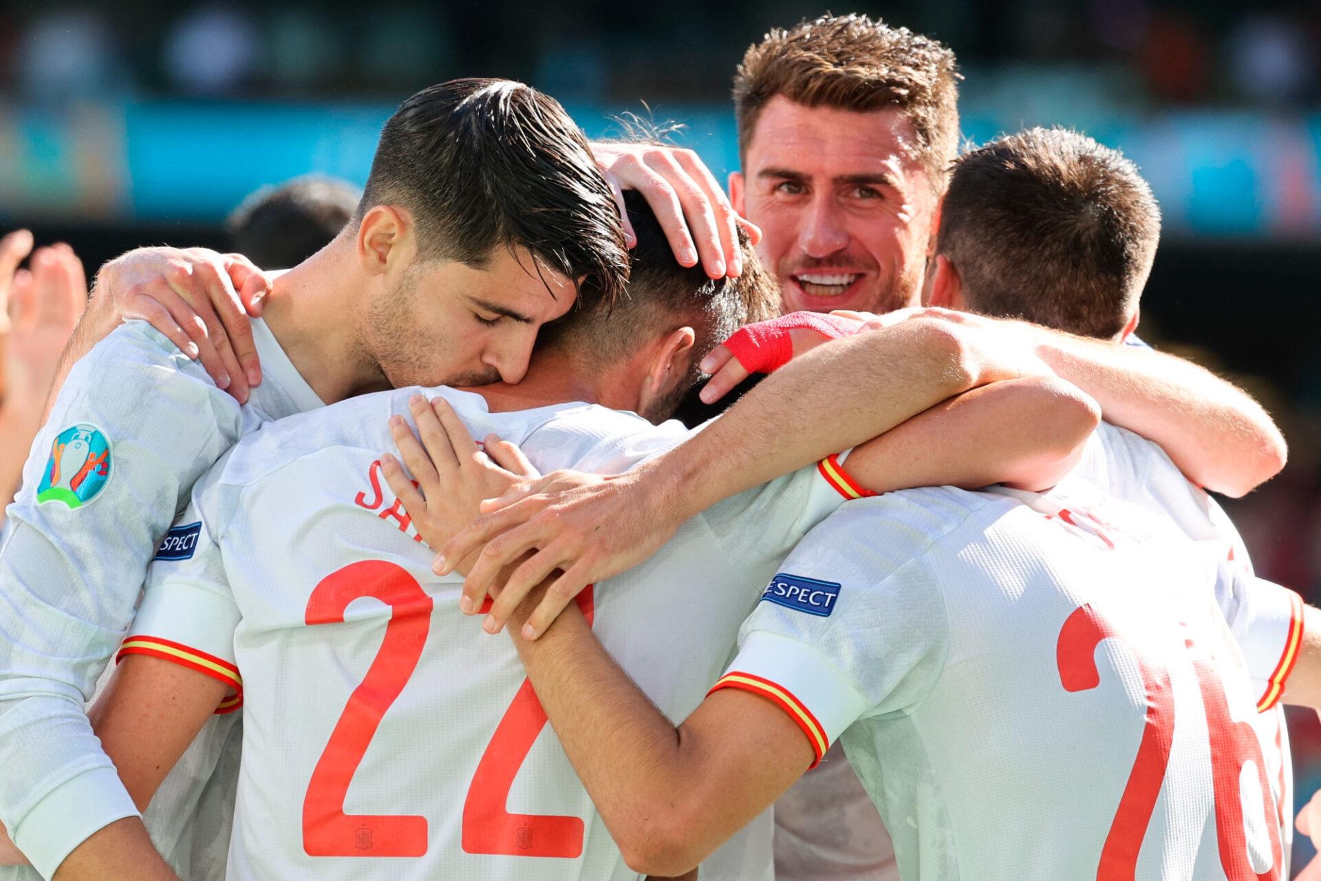 """Aymeric Laporte est """"très heureux"""" de faire partie de cette équipe d'Espagne. Icon Sport"""