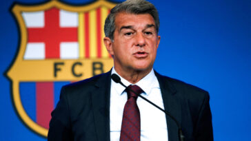 Joan Laporta, président du FC Barcelone (IconSport)
