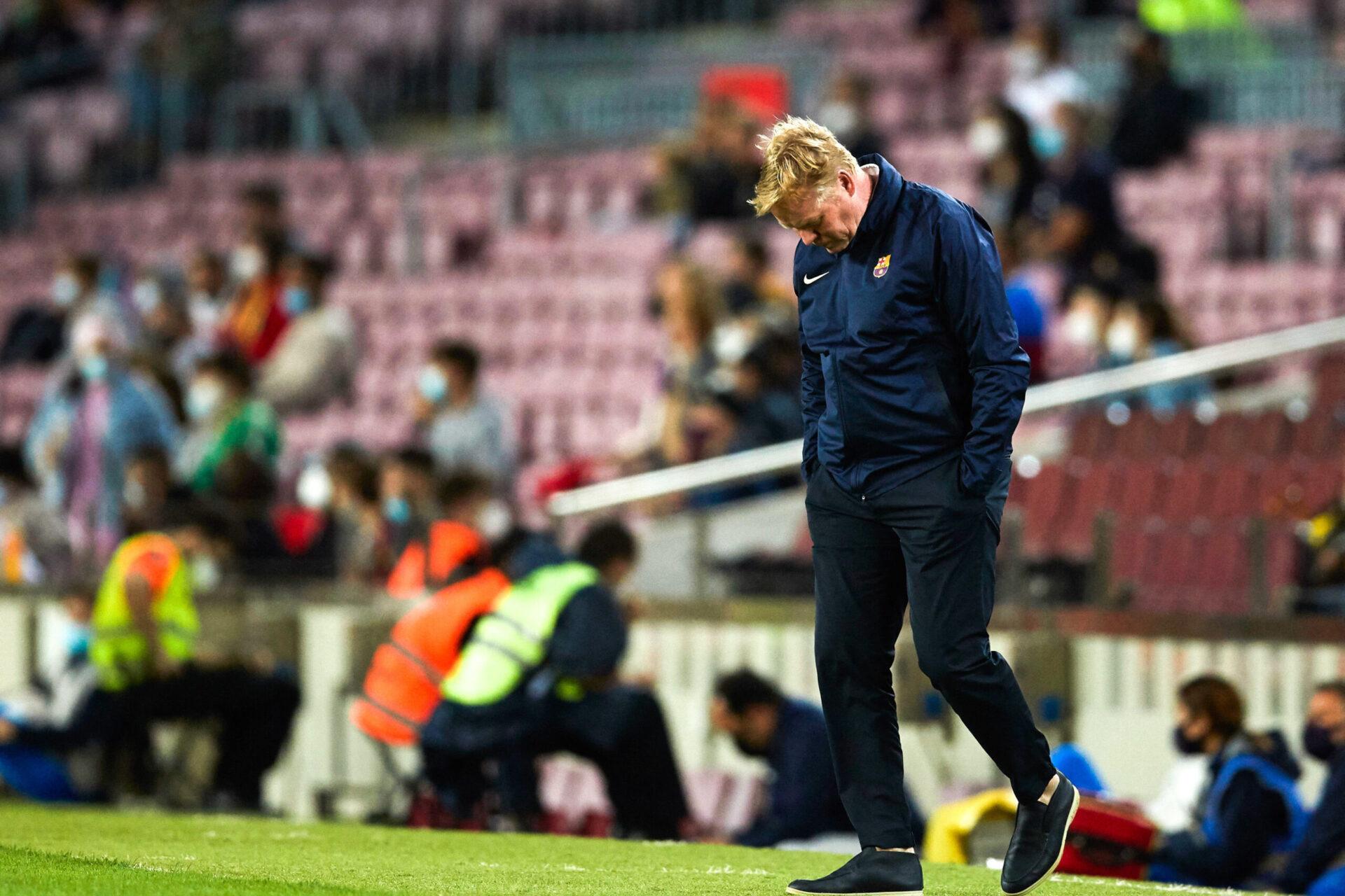 Ronald Koeman est en grande difficulté avec le FC Barcelone cette saison. Icon Sport