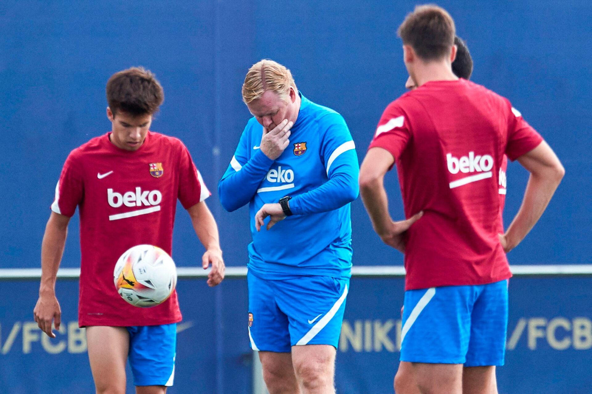 Ronald Koeman vit-il ses derniers entraînements au Barça ? Icon Sport
