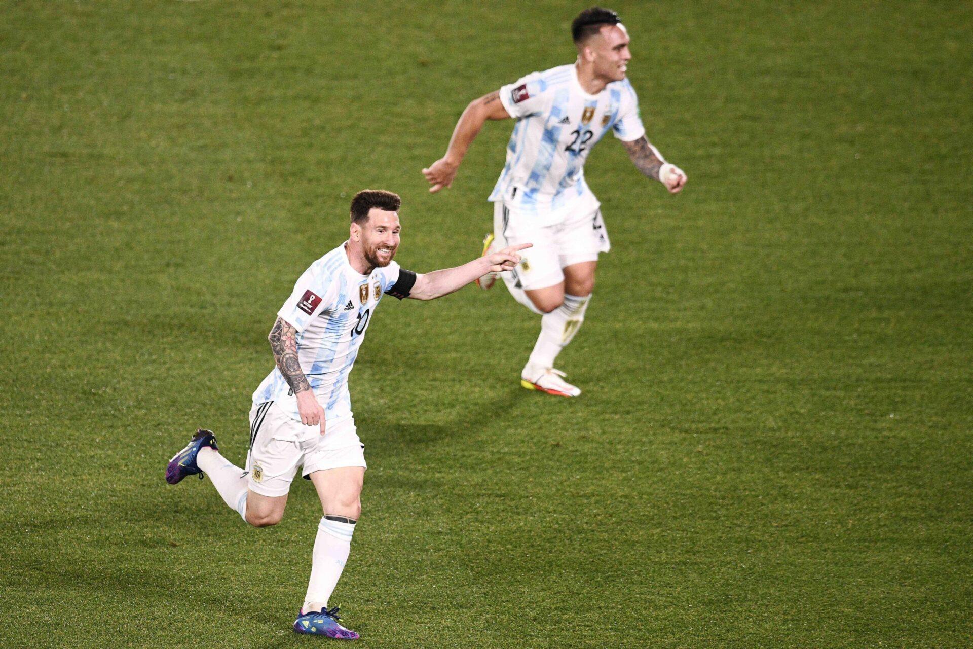 Lionel Messi a brillé avec l'Argentine contre l'Uruguay dans les qualifications à la Coupe du monde 2022 en Amérique du Sud (iconsport)