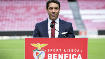 Rui Costa a été élu par les socios, nouveau président du Benfica Lisbonne (IconSport)