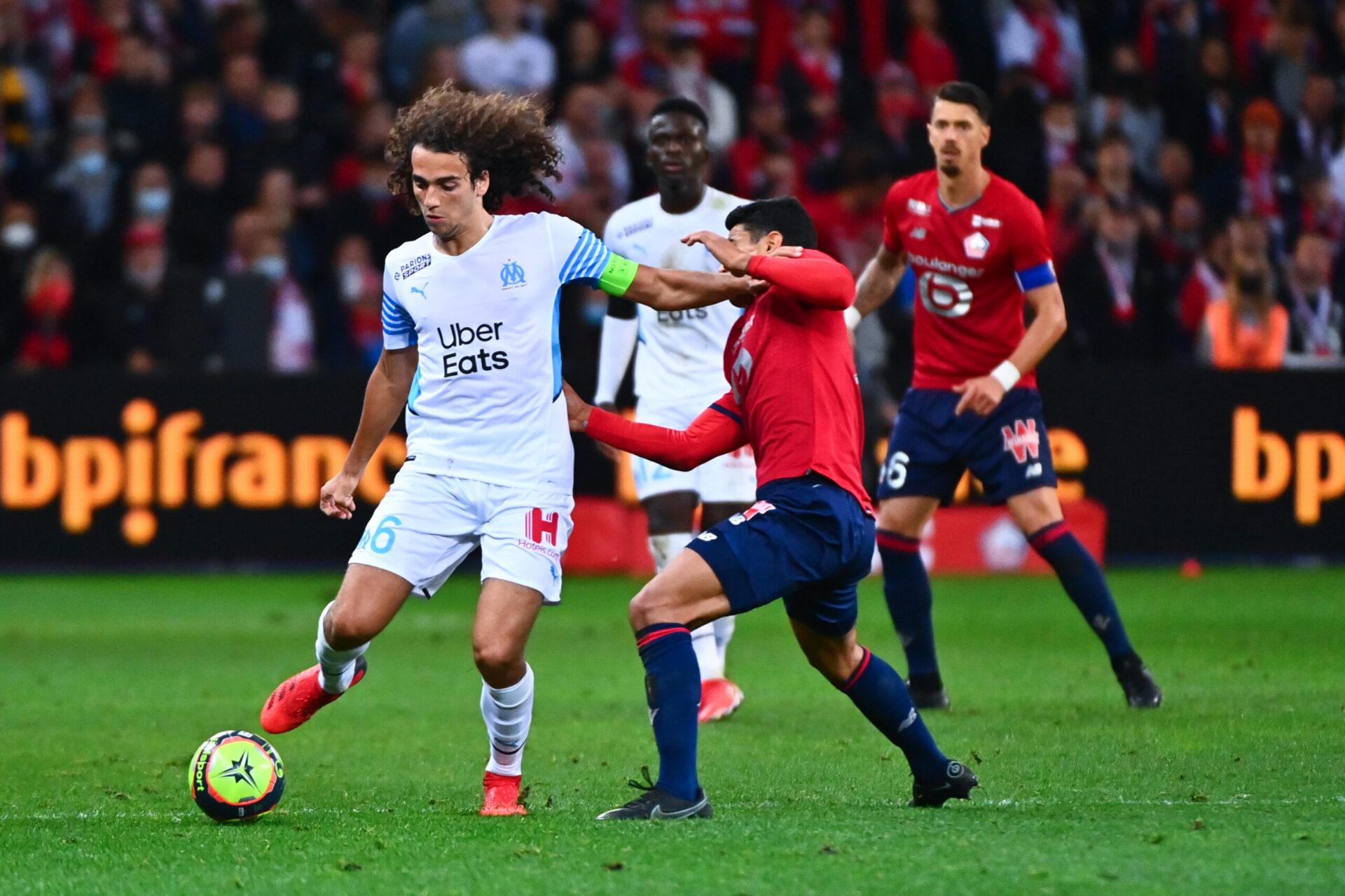 Depuis le début de saison la présence de Mattéo Guendouzi se fait sentir dans le milieu de terrain de l'OM (iconsport)