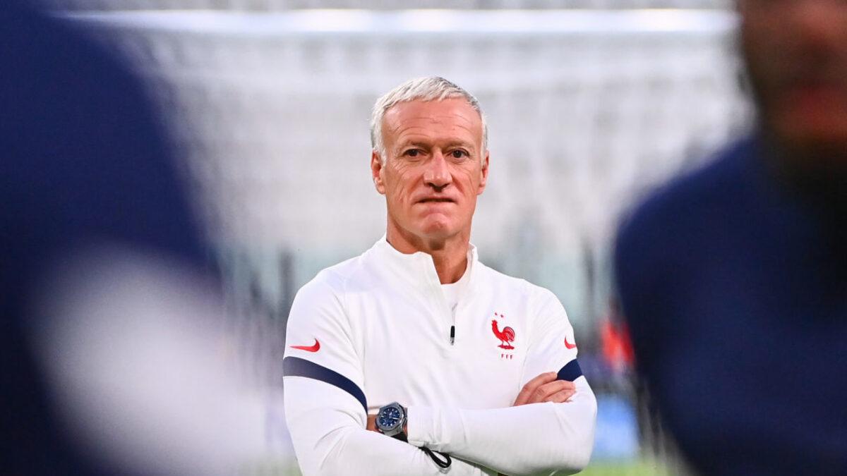 Didier Deschamps veut que les Bleus prennent les choses en main contre la Belgique. Icon Sport