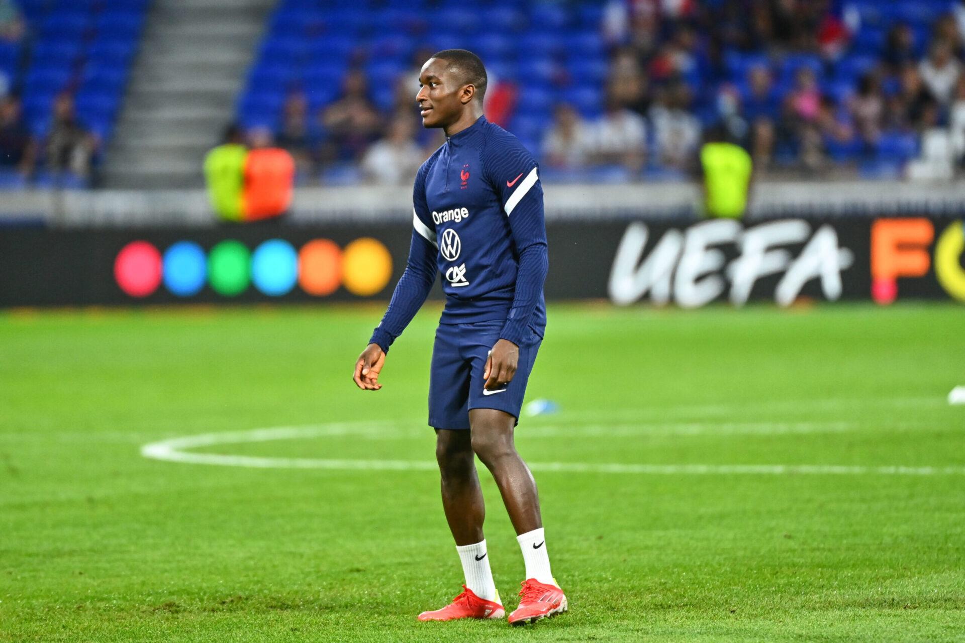 Moussa Diaby a été une nouvelle fois appelé par Didier Deschamps avec l'équipe de France. Icon Sport
