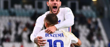 Les Bleus renversent la Belgique et filent en finale de la Ligue des nations grâce à un but au buzzer. Icon Sport