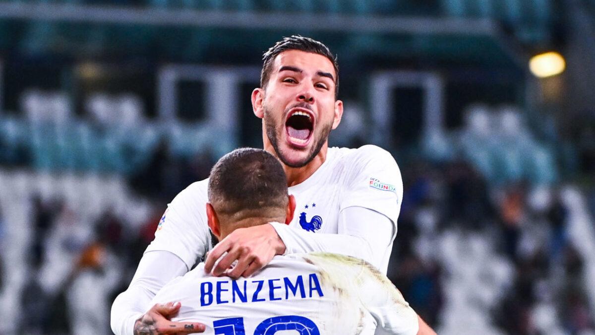 Theo Hernandez a livré son analyse de la rencontre des Bleus face à la Belgique (3-2) en conférence de presse. Icon Sport