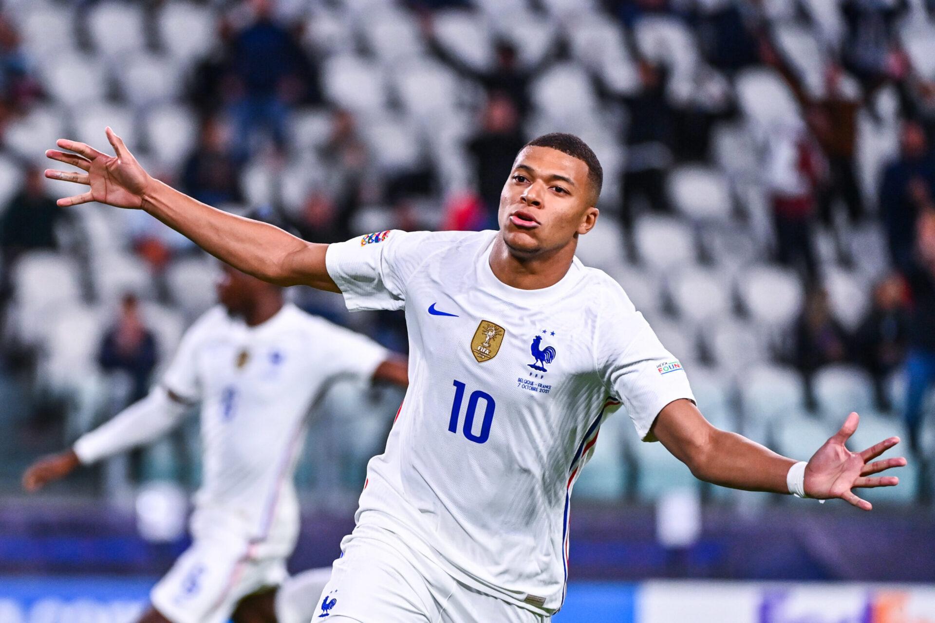 Kylian Mbappé sera titulaire avec la France (iconsport)