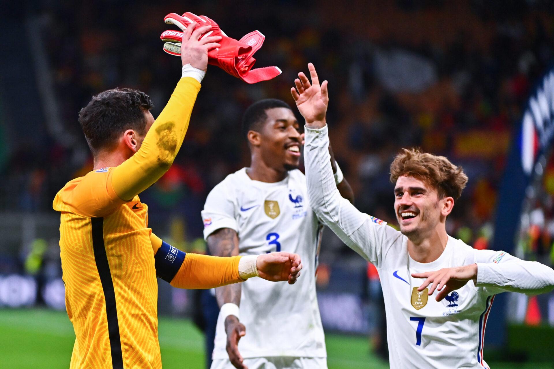 Les joueurs de l'équipe de France vont toucher un intéressement après la victoire en Ligue des nations (iconsport)