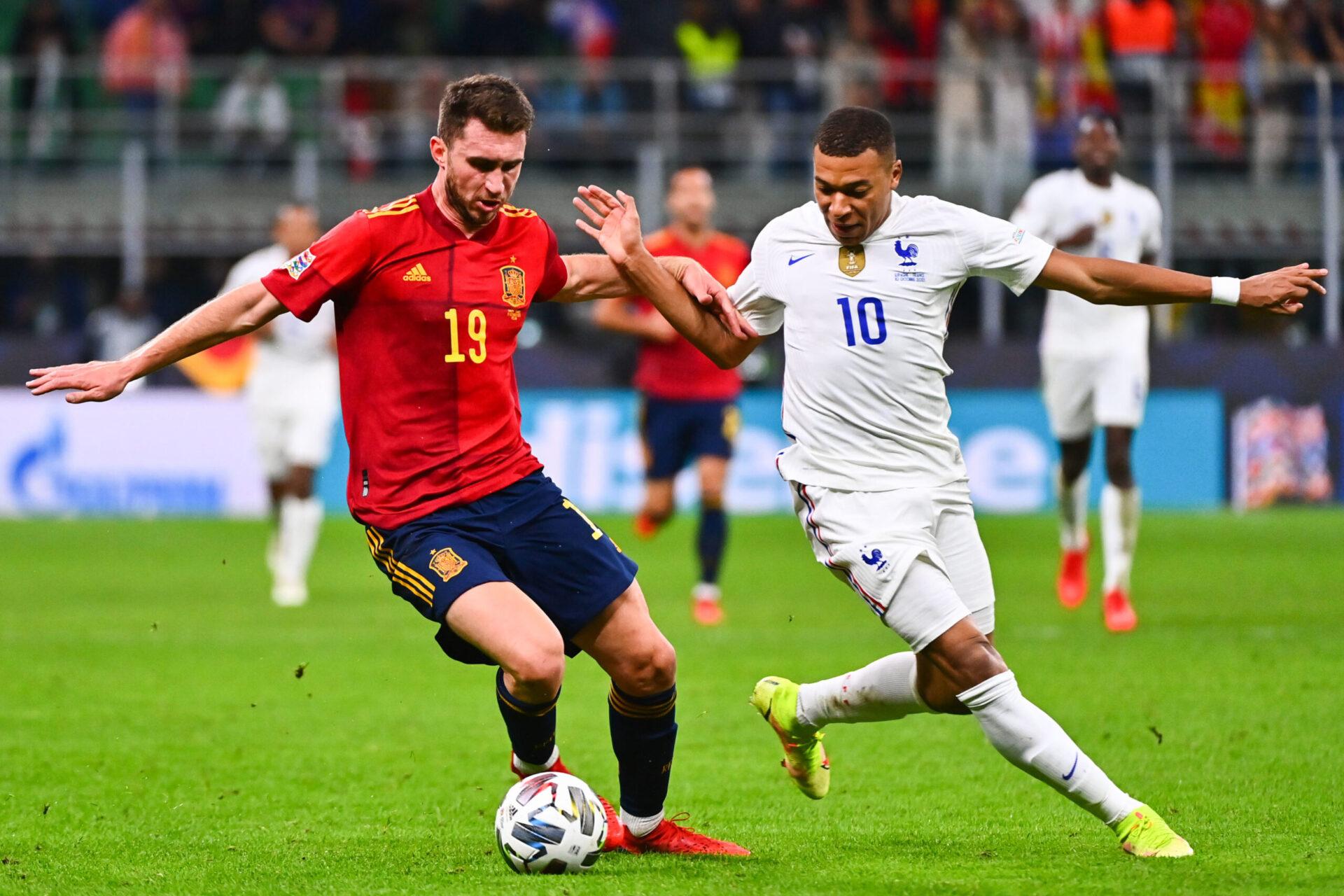 Pour Aymeric Laporte, l'Espagne a mieux joué que les Bleus en finale de Ligue des nations (iconsport)