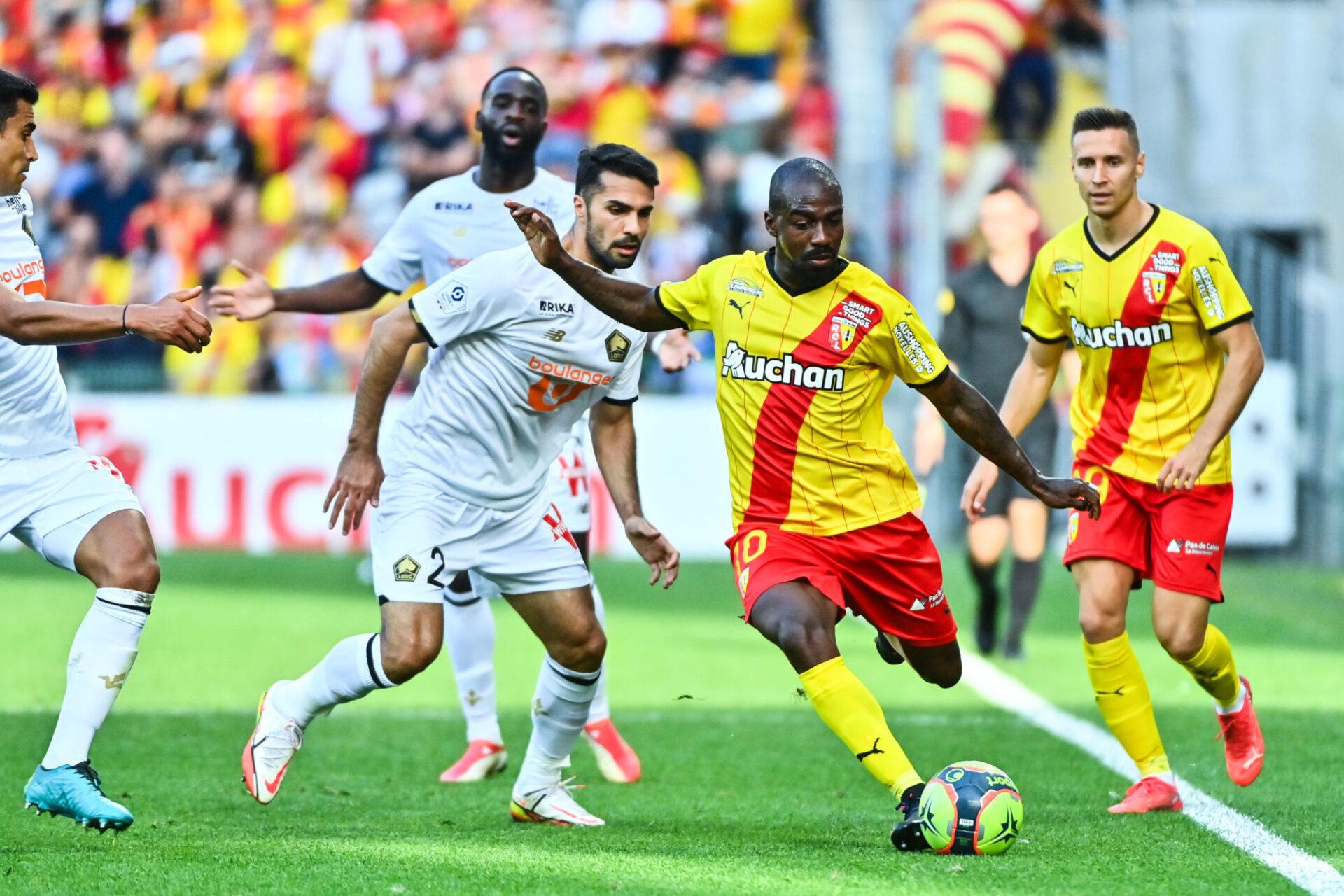Gaël Kakuta est l'atout maître de Lens dans une position de milieu offensif taillée pour lui. Icon Sport