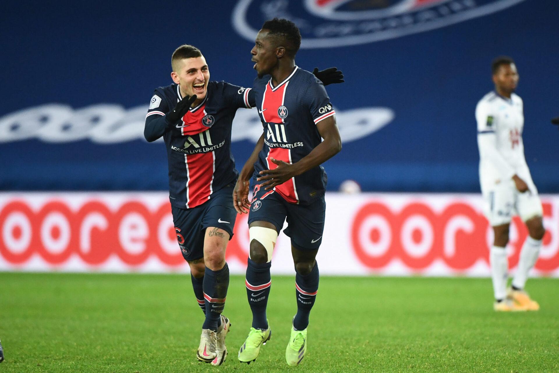 Marco Verratti est heureux au PSG, et surtout à Paris. Icon SPort
