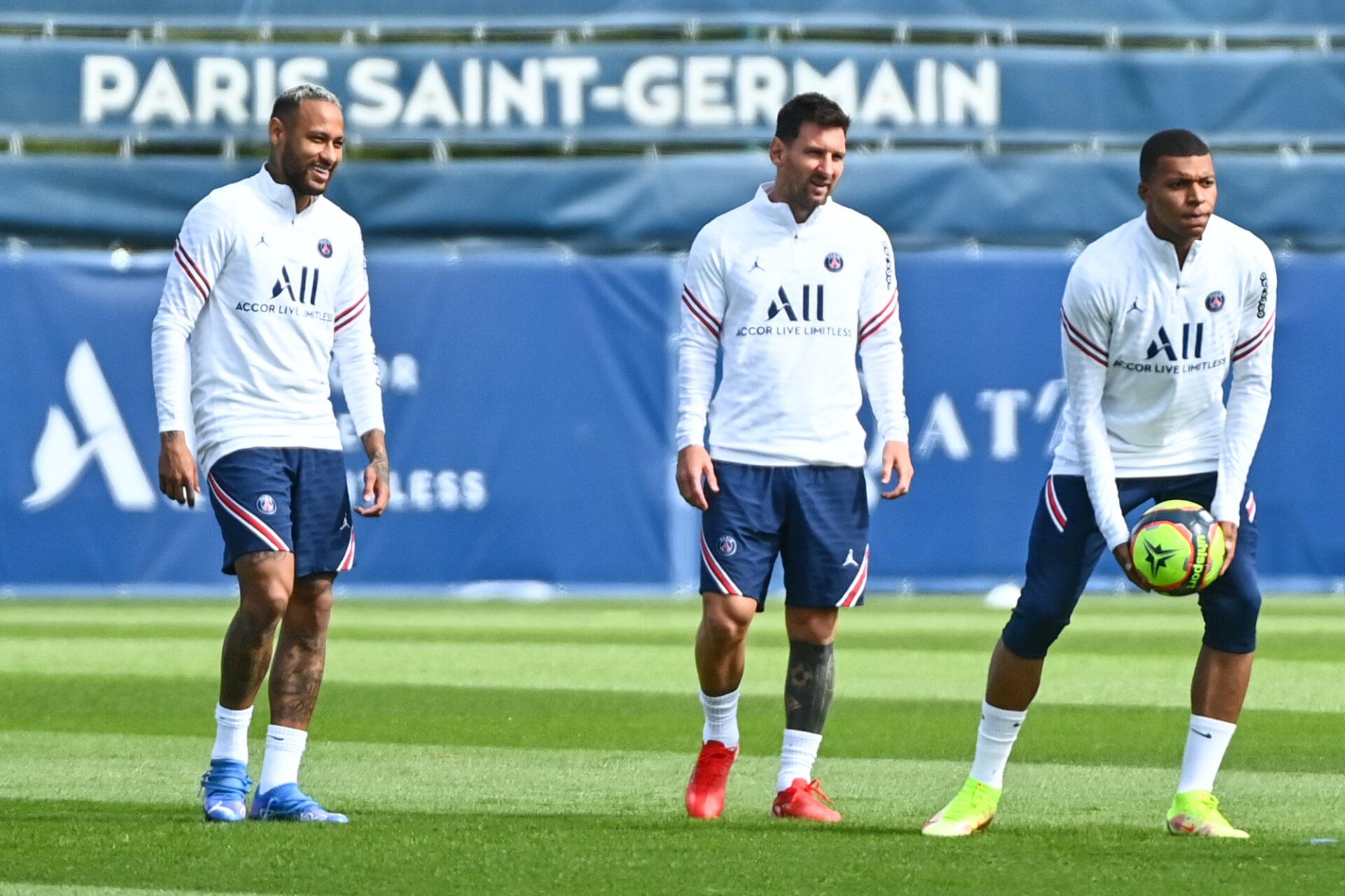Messi a notamment évoqué sa relation avec Neymar et Mbappé pour France Football (iconsport)