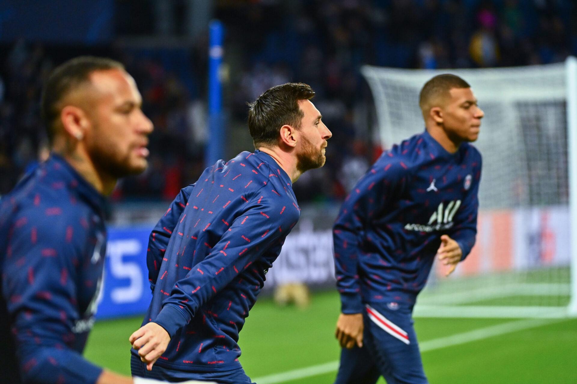 Kylian Mbappé fan de Lionel Messi (iconsport)