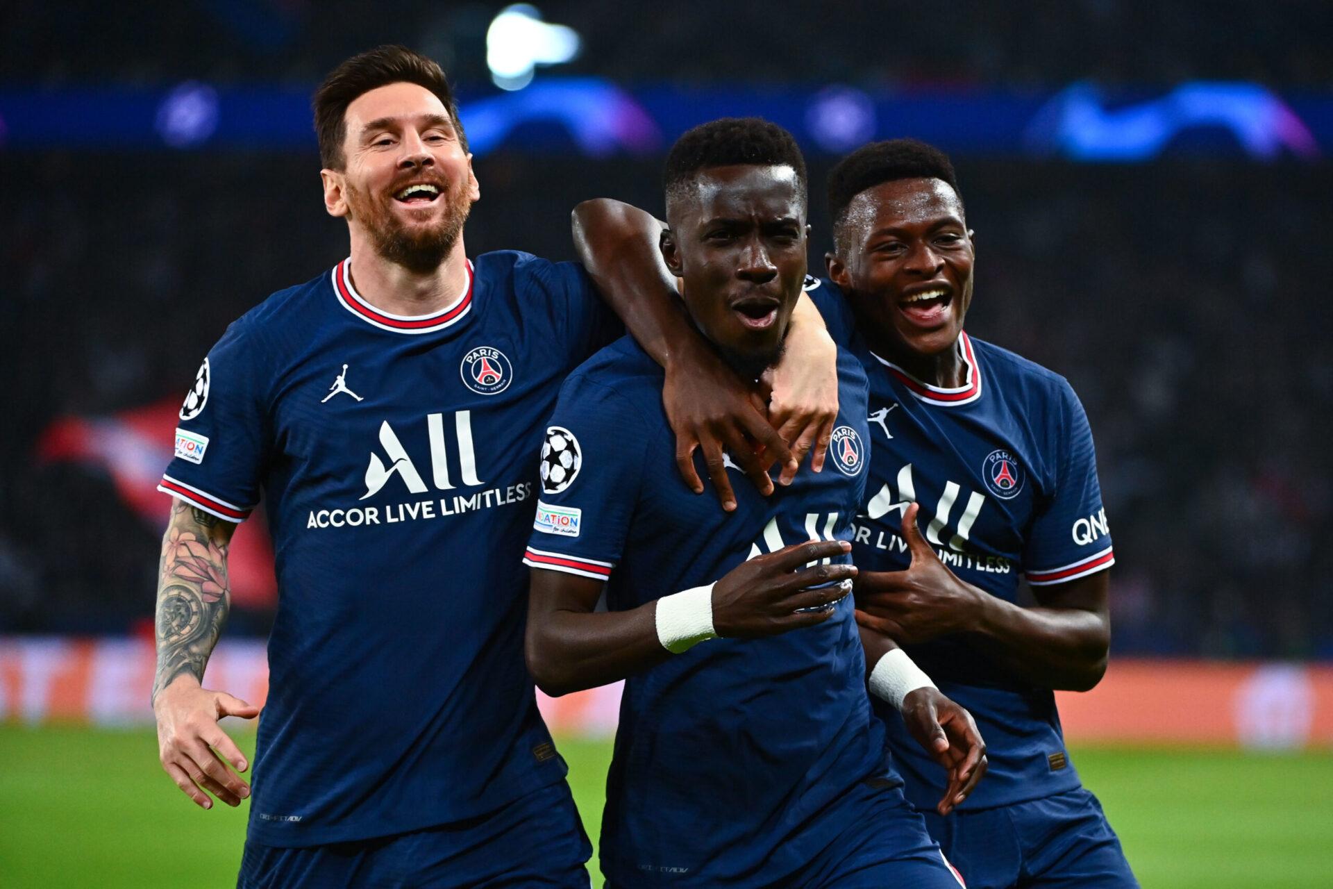 Nuno Mendes a été titularisé pour la première fois en Ligue des champions face à Manchester City (iconsport)