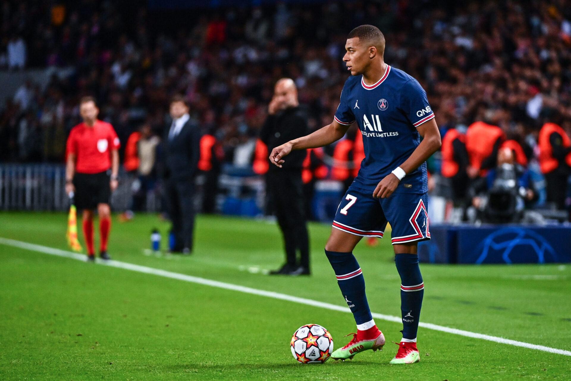 Kylian Mbappé devrait jouer sa dernière saison au Paris Saint-Germain, après cinq ans passés à Paris. Icon Sport